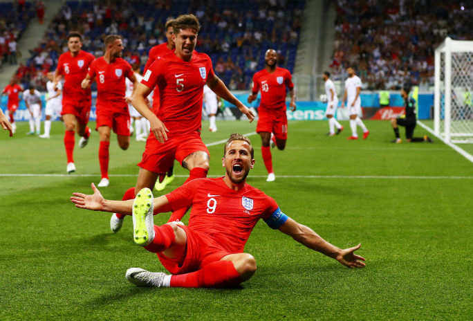 Harry Kane equaled Maradona's long-standing record. Photo: Shutterstock