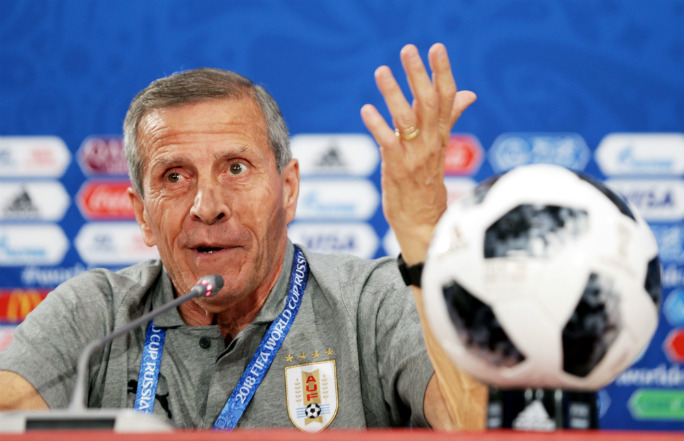 Óscar Tabárez leaves Russia with two records. Photo: Shutterstock