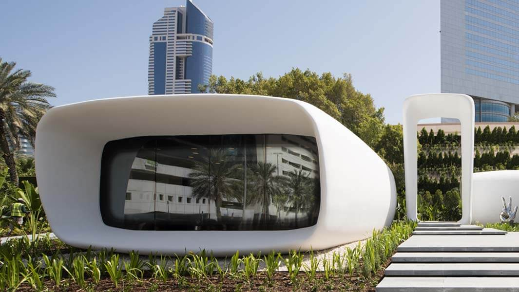 Discover the world's first 3D printed commercial building in Dubai