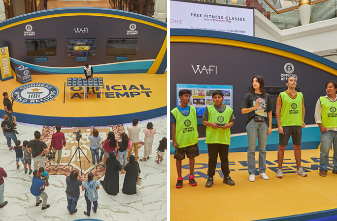 GWR event at WAFI mall