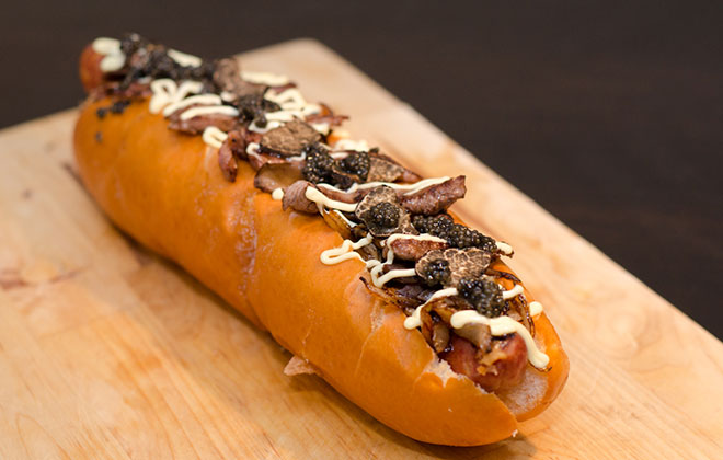 Most expensive hot dog commercially available